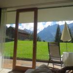 Blick aus dem Hotelbett