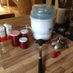 Vaporisator, der Marmelade-Einkochhelfer