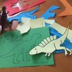Dino-Partydeko selber machen